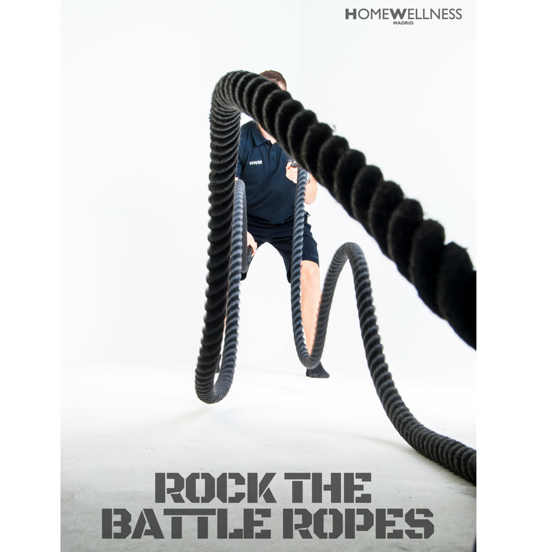 ROCK THE BATTLE ROPES